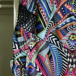 Monif C. Swim - Monif C One-Piece Swimsuit with Mesh Cut-Outs